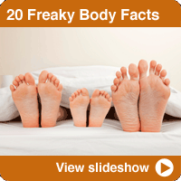 20 Freaky Body Facts