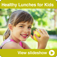 Healthier School Lunches for Kids