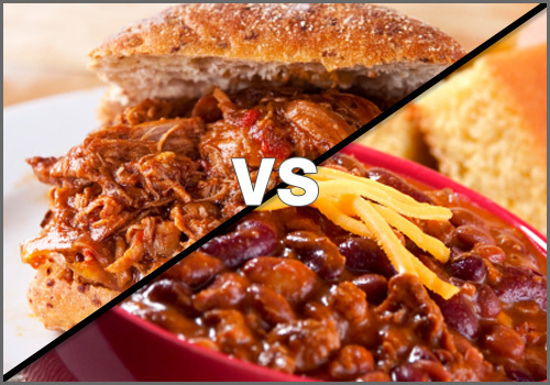 Which Is Worse: Slow Cooker Sandwiches or Chili?