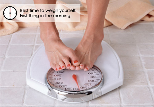 When to: Weigh Yourself