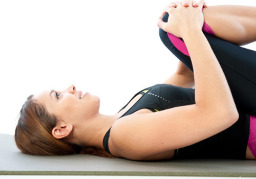Flexibility: Knee to Chest Stretch