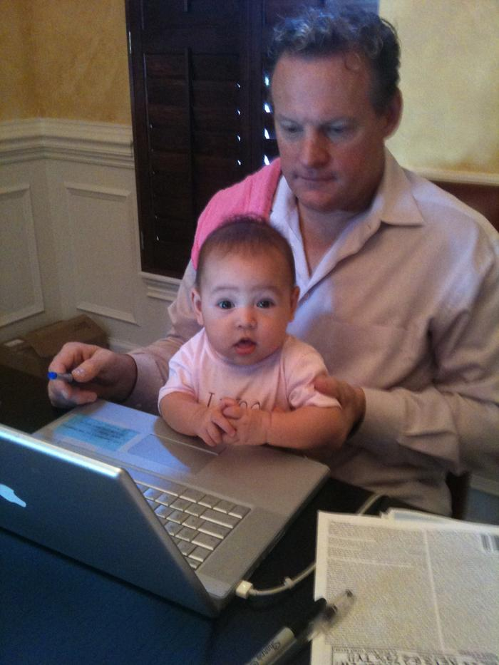Surfin the net with daddy