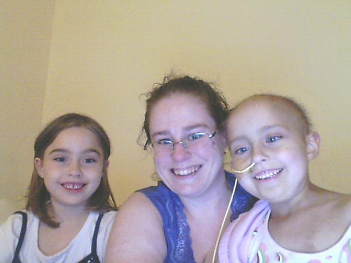 me and my identical twin nieces--Aja and Aly