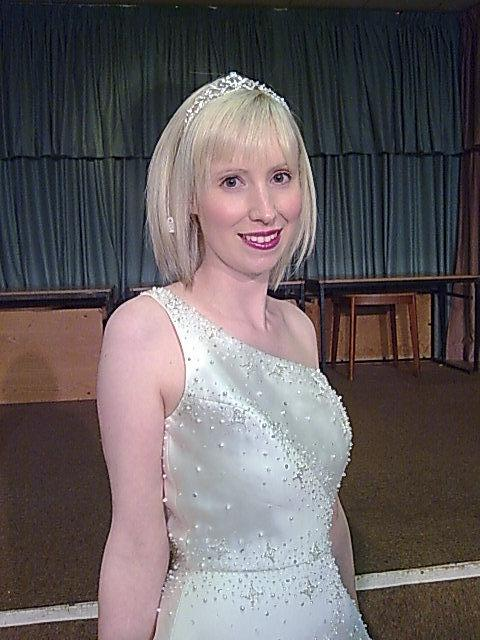 Modelling at a Wedding Fayre April 2010