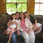 Mother's day with daughter and granddaughters