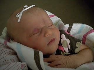 My new Grand Daughter born 6/7/2010, Welcome Colette