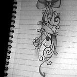 I drew it as a tattoooo idea :)x