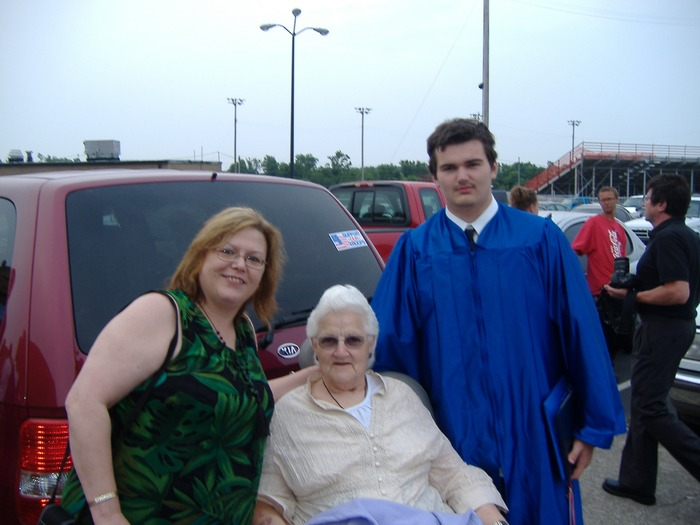 me MIL and son 2007 graduation