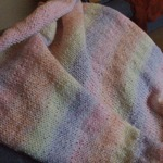 my knitted baby blanket