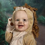 My baby was a lion for 2010 Halloween :)
