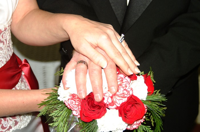 Our hands on my special day