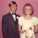 1969,18 y/o. My prom date and my high school sweetheart, my future wife, my life compass.