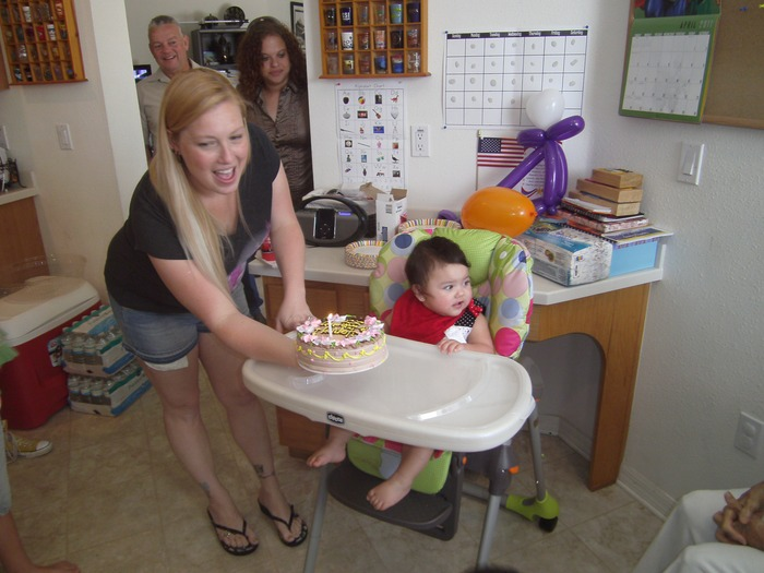 Me w/ JJ on 1st birthday!