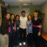 Super Body, Super Brain Parkinsons picture with physical therapists at Bethesda hospital
