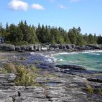 Mississagi views on Manitoulin Island, Ontario Canada
