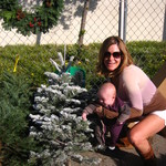 Picking out our FIRST Christmas tree!