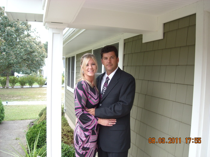Me and Hubby 2011
