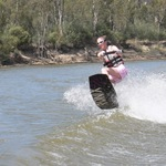 Wakeboarding - getting real air