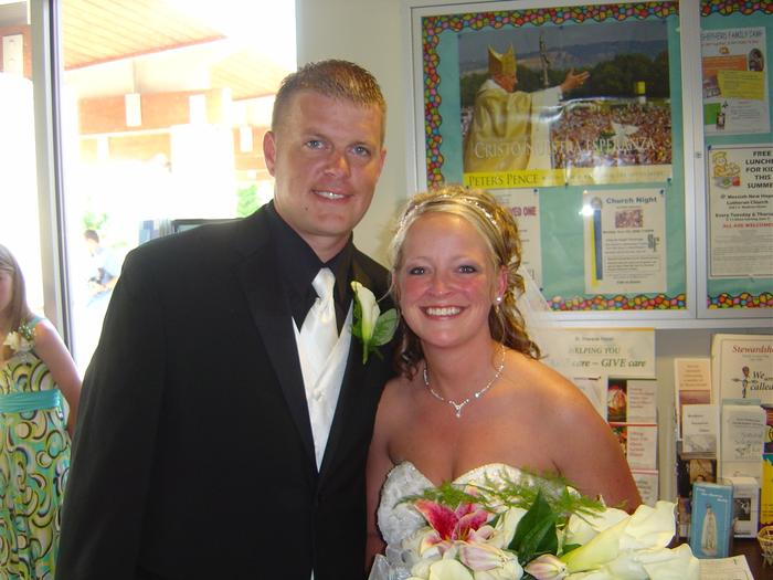 My youngest son & his new bride 6/14/08!
