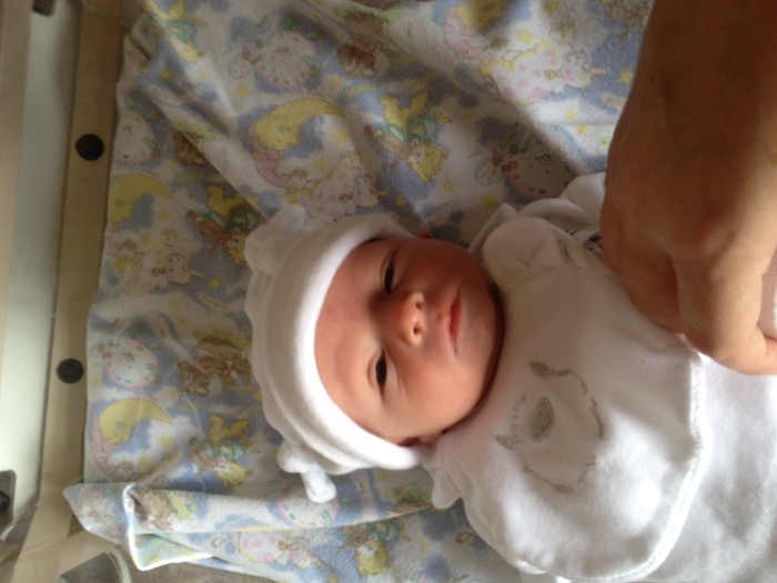 I love my little boy SO MUCH!! Born on 1st May 2012 @ 2.58pm, weighing 6lbs 13ozs