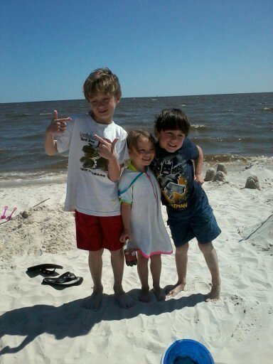Beach kiddies