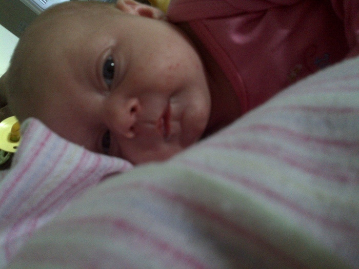 my beautiful babygirl 3 weeks old