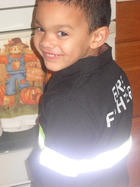 little fire fighter <3
