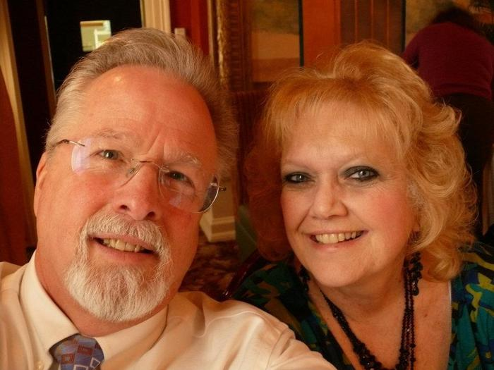 A 2012 picture of me and my partner of 45 years.