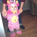 Lil' Cece Monster for Halloween!