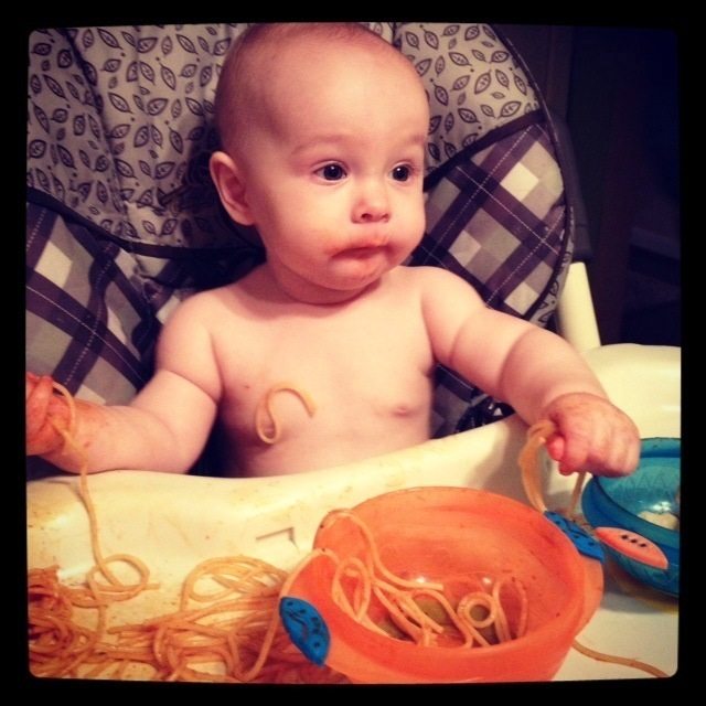 Spaghetti night!
