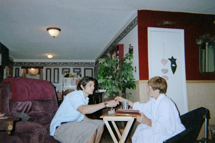 chess at the old house