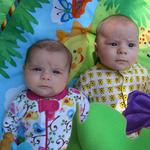 Twins at 3 months