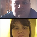the top pic was me in august 2012 & the bottom one is me today  33lb loss
