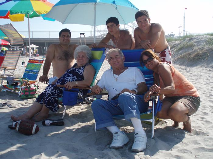 my family at the beach house!