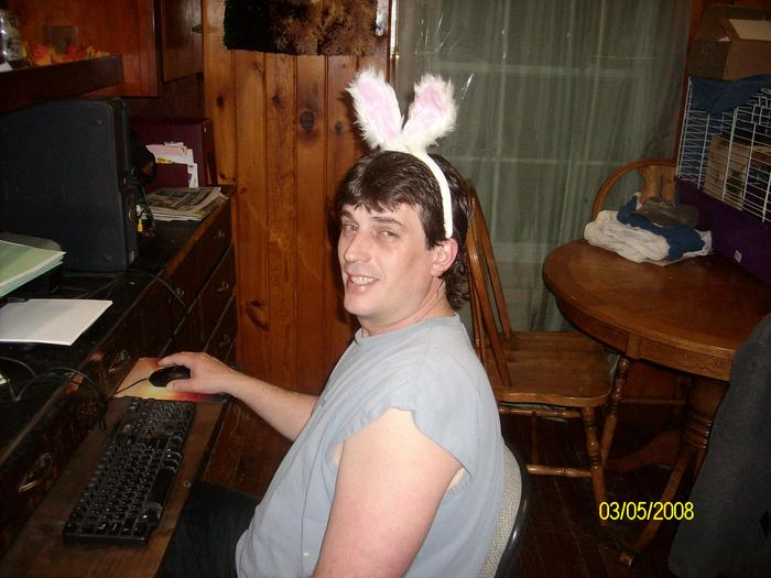 my sexy easter bunny!!