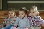 Izzy with her cousins Emory and Hadley