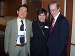 Dr. Nishikawa, Julie Carter, and Dr. Milhorat