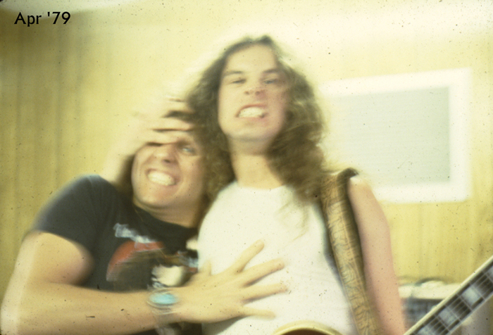 Hamming it up with Ted Nugent