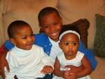 My 3 beautiful kids...I'm so blessed.
