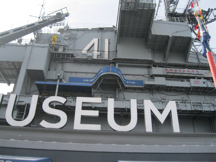 My old ship the USS Midway