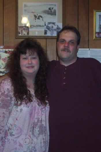 Me and My Hubby...Greg