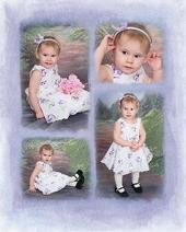 Theres my sweet pea! My Granddaughter