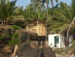 my hut on the beach at Ashwem