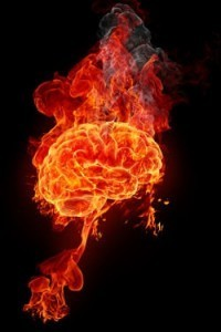 Migraine has been described as the brain on fire.