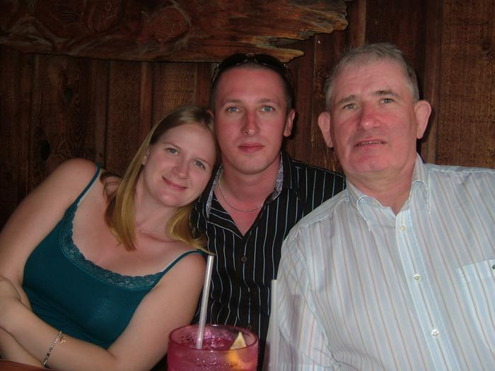 Me, my husband, and his father