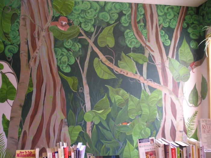Mural at Childrens Book Store 10' x 8'