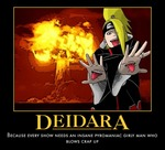 The Death Note version of Deidara is Mello XD