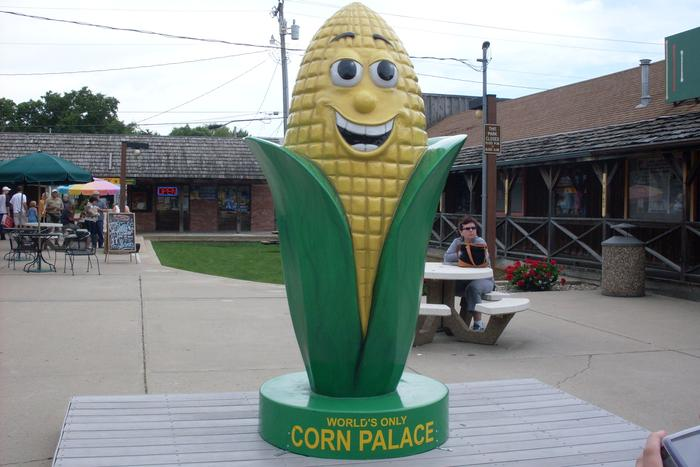 Mr.Corn at Corn Palace